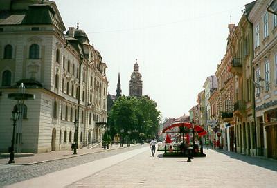 Kosice, Slovakia July 1999