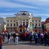 Bratislava Main Square Protest