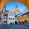 Old Town Hall in Bratislava.