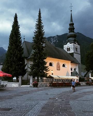 18th century Church of the Assumption of the Virgin Mary Kranjska Gora