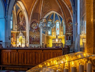 interior of St. Martin's Parish Church, Bled
