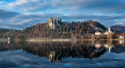 Bled Castle, St. Martin's Parish Church and Lake Bled