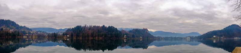 A quiet morning on Lake Bled