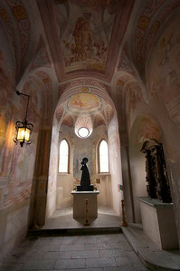 Bled castle chapel