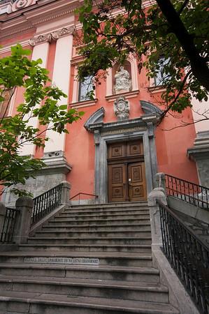 Church of the Annunciation Ljubljana