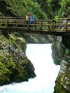 Vintgar Gorge.  It's an essential hike if you're in Slovenia.  It's only about 1 hour long.  The setting is magnificent.