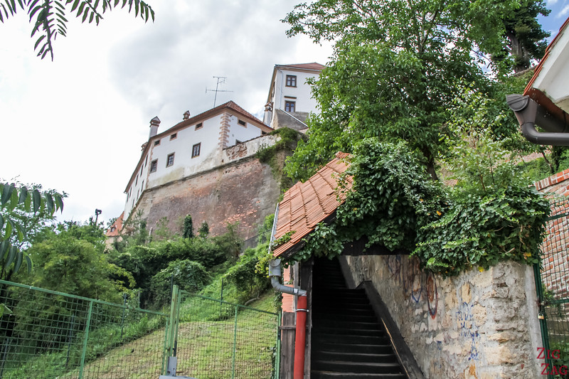 Access to Ptuj Castle Slovenia 1