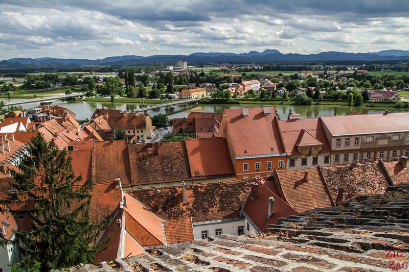 View over Ptuj