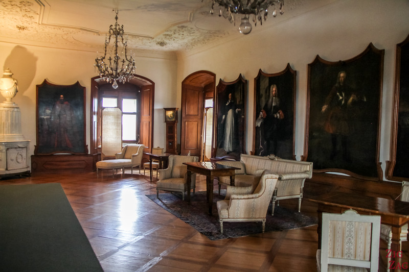 Slovenia Ptuj Castle interior - furniture 1
