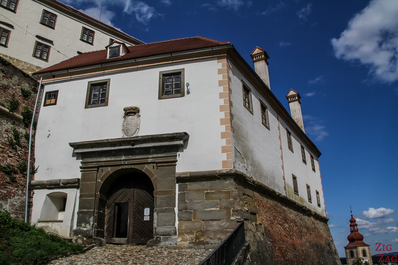 Ptuj castle entrance
