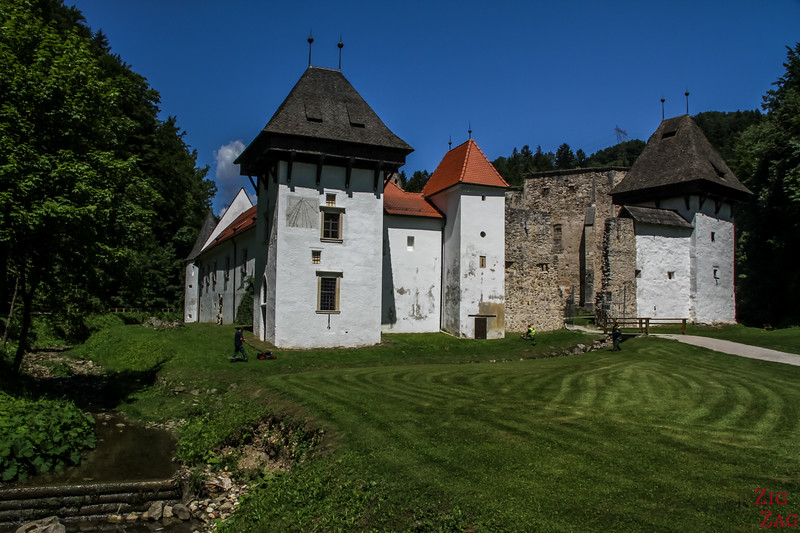 Slovenia off the beaten track - Zice charterhouse 1