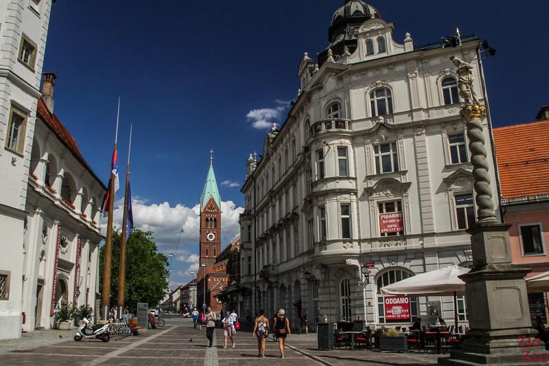 Maribor city center