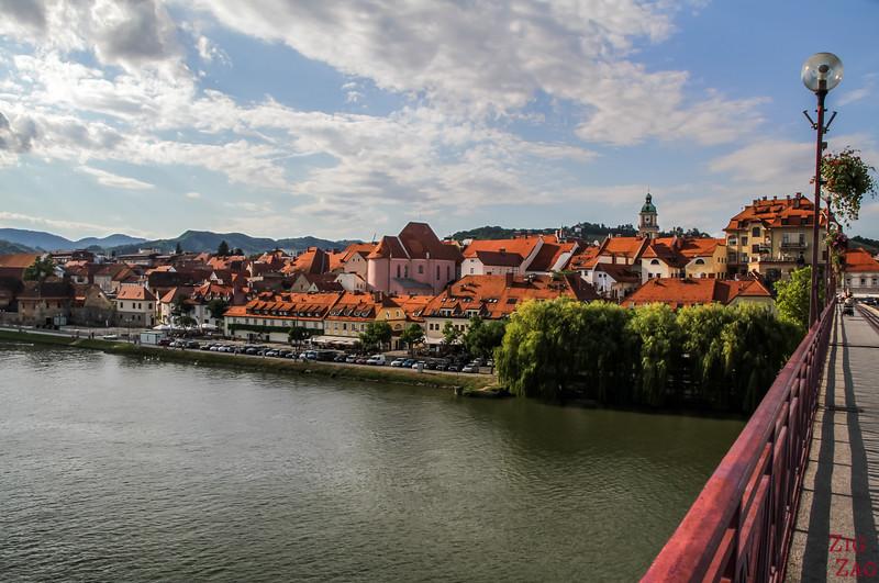 Ville de Maribor fleuve