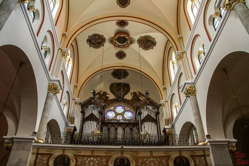 Maribor Franciscan Church organ