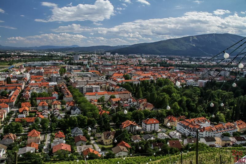 Maribor Piramida Hill view