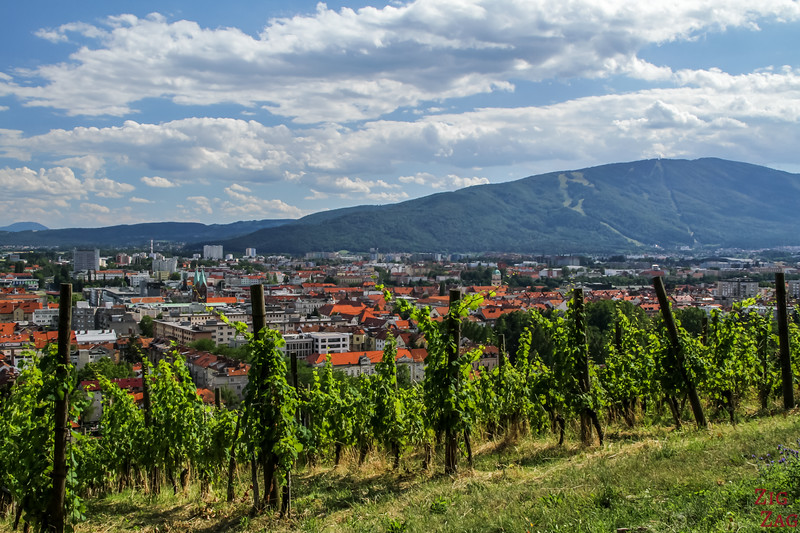 Maribor Pyramid Hill view