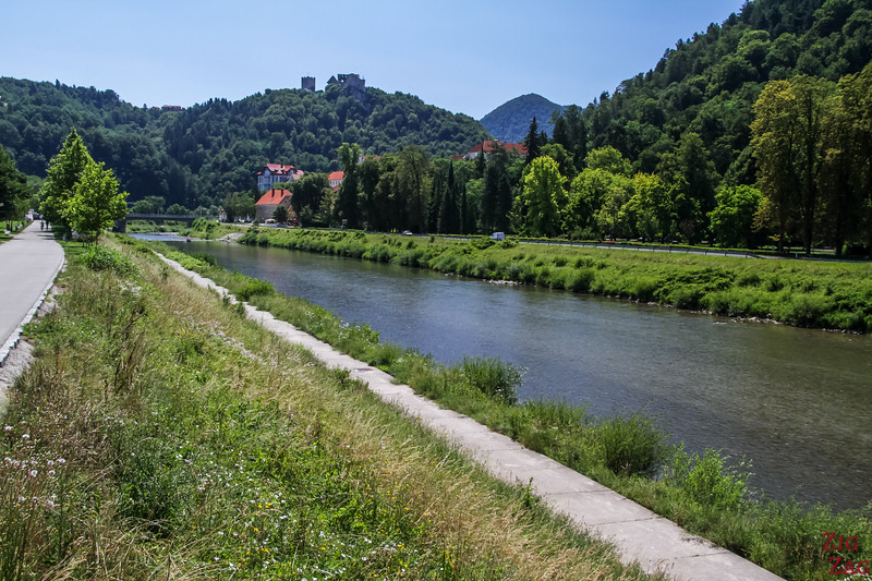 Celje river walk