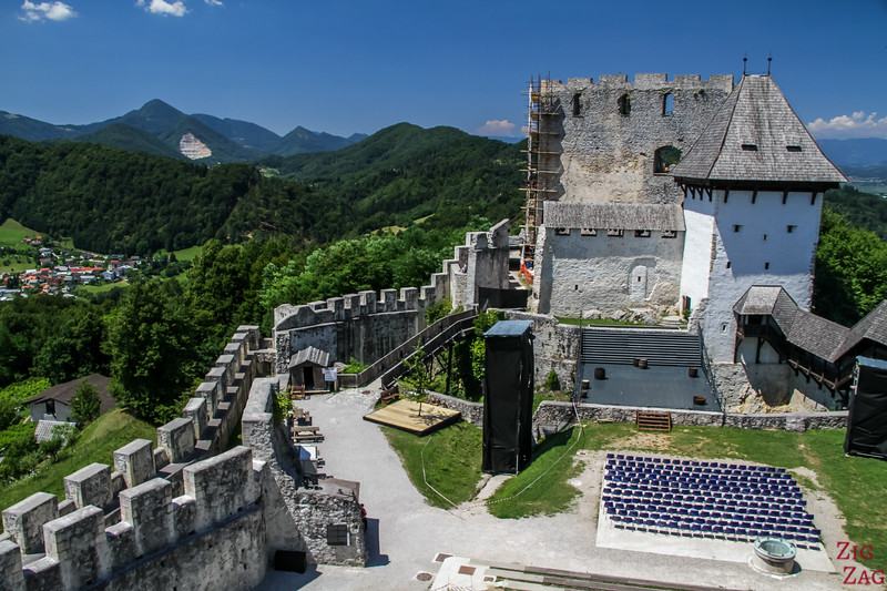 Top Slovenia Points of Interest - Celje castle