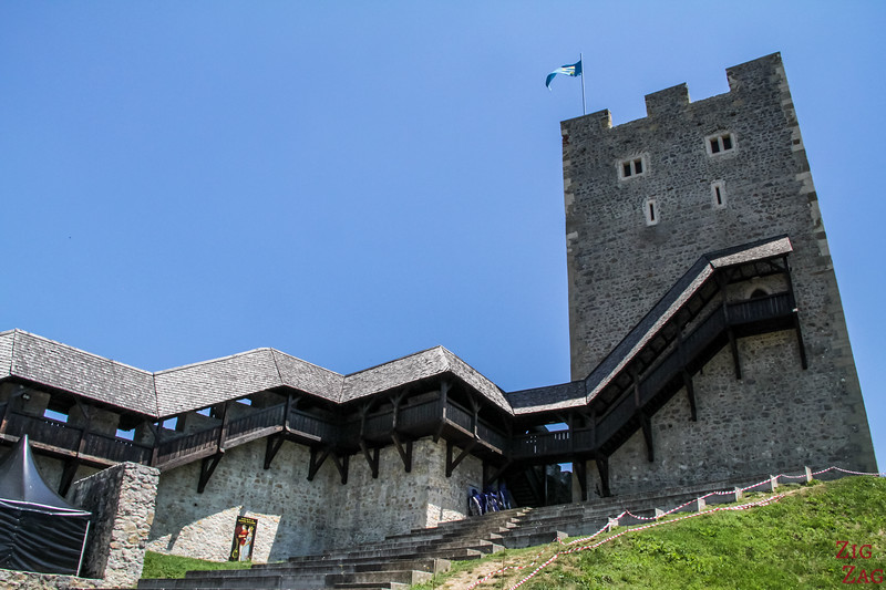 Celje castle tower