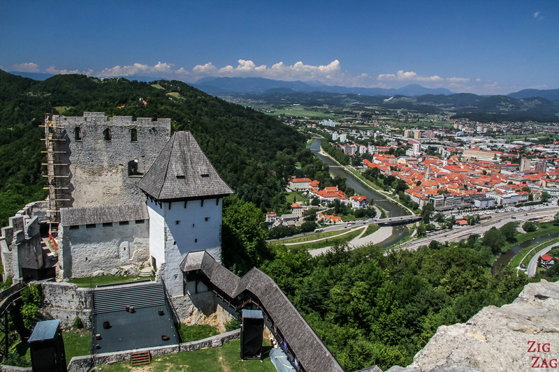 View From Celje Castle Slovenia 2