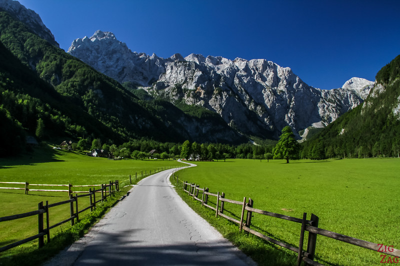 Best views in Slovenia - Logar Valley