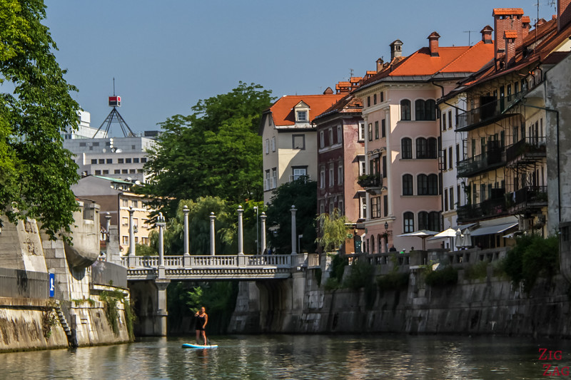 Ljubljana Tourisme - Stand up paddle