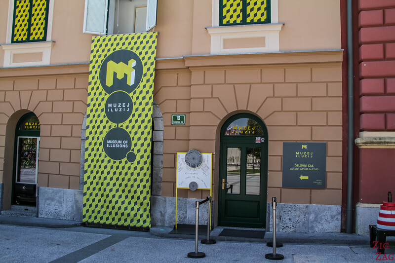 best museums in Ljubljana - Illusion museum