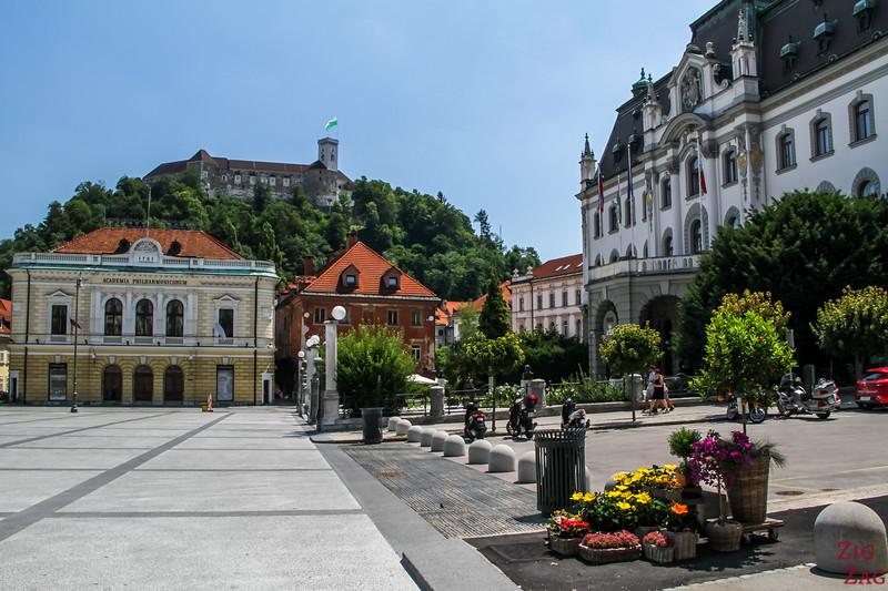 Ville de Ljubljana place