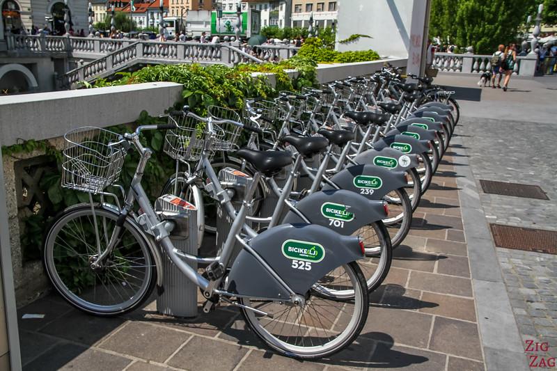 Se déplacer à Vélo à Ljubljana