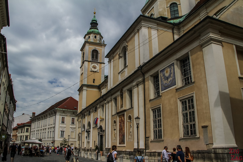 Places to visit in Ljubljana - Cathedral