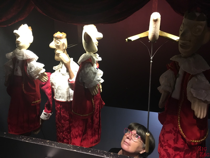 Fun things to to in Ljubljana - Castle puppet museum Slovenia