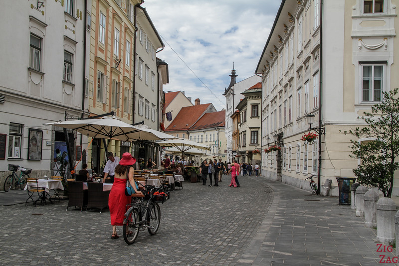 top things to do in Slovenia Ljubljana - walking around