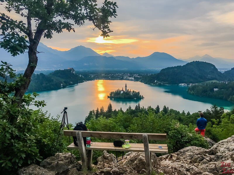 Best view of Lake Bled - Ojstrica