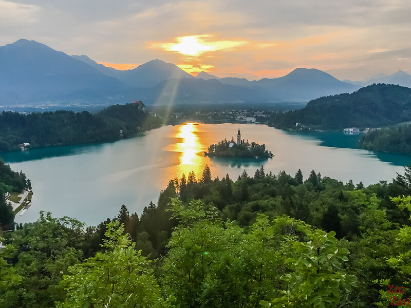 Best views in Slovenia - Lake Bled