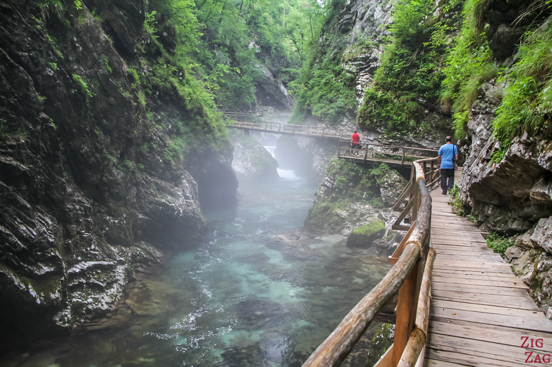 Best Walks in Slovenia - Vintgar Gorge