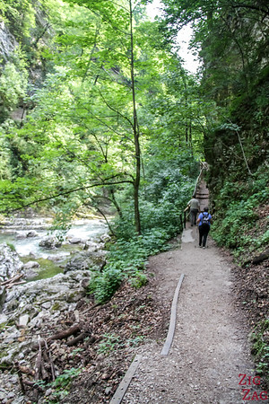 Vintgar Gorge walking path