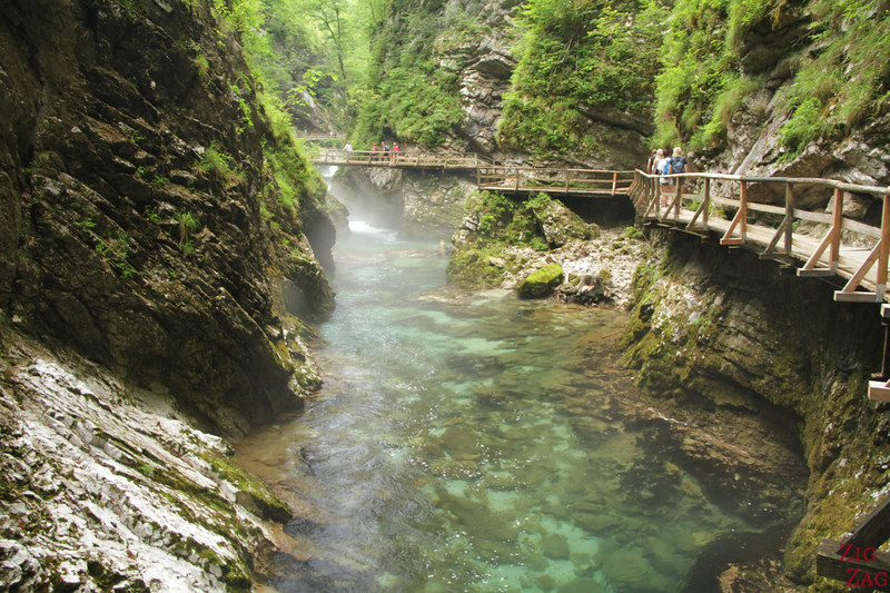What to see in Slovenia - Vintgar Gorge