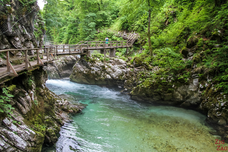 what to do in Lake Bled excursions - Vintgar Gorge