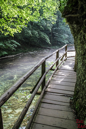 Vintgar Gorge boardwalk 2