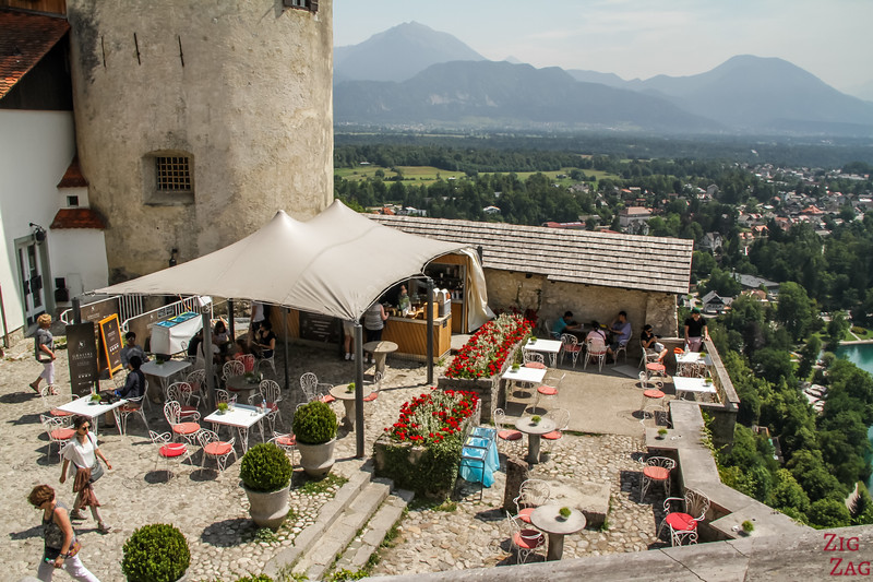 Lake Bled Castle Restaurant and facilities 2