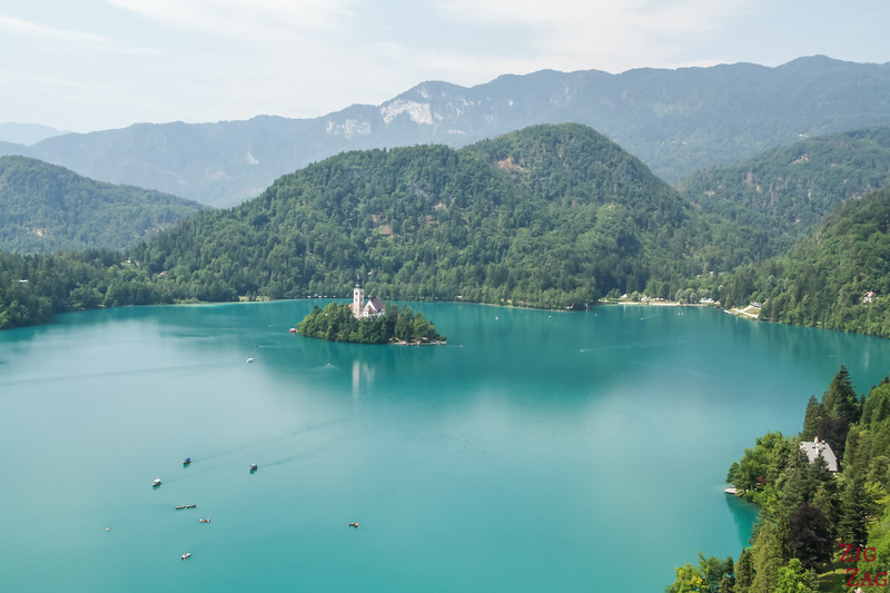 Best view of Lake Bled - Bled castle
