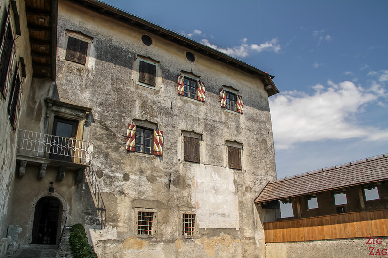 Slovenia Bled Castle history 4