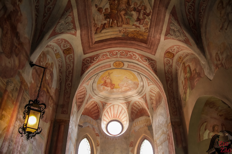 Lake Bled Castle chapel 2