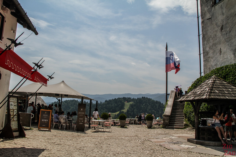 Lake Bled Castle Restaurant and facilities 1