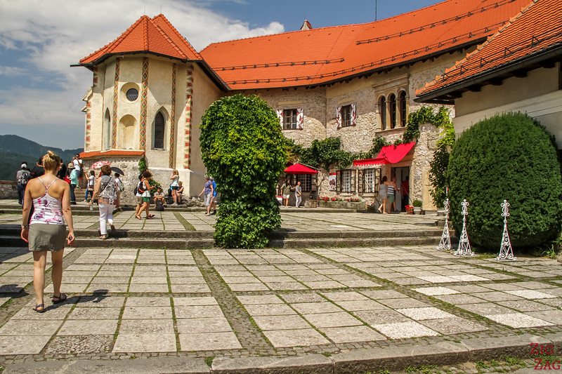 Histoire Chateau Bled Slovenie 1