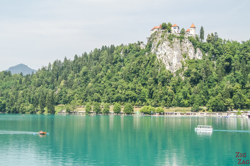 Top Slovenia Points of Interest - Bled castle