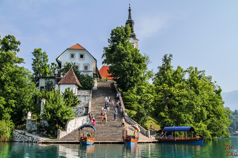 Things to do in Lake Bled Slovenia - Lake Bled island