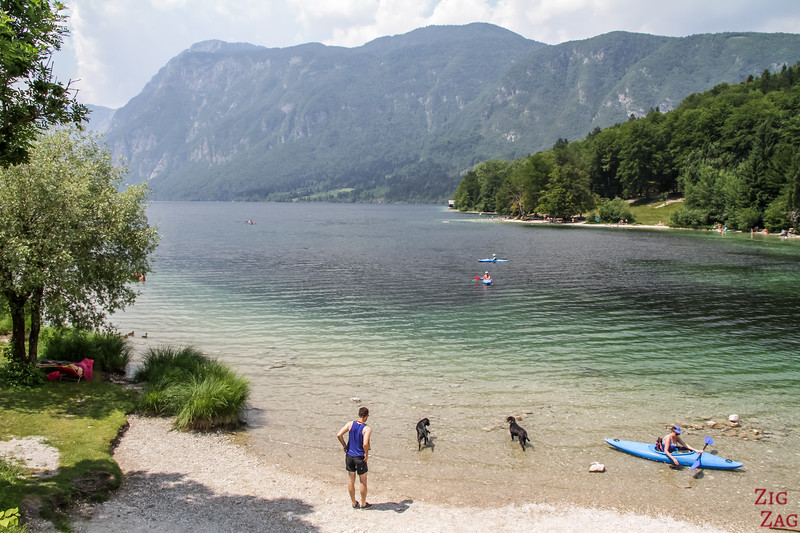 Swim and Kayak on Lake BOhinj