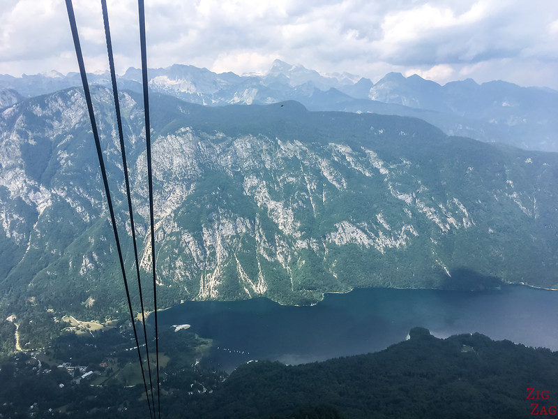 Slowenien Attraktionen - Vogel Cable Car