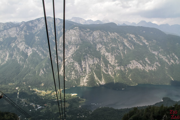 Lake Bohinj Cable Car